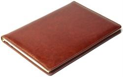 Книжка телефонная А5, Malaga, коричневый - фото 3861