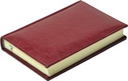 Ежедневник недатированный А6, Rich, бордовый