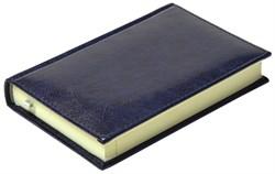 Ежедневник недатированный А6, Rich, синий темный