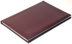 Книжка телефонная А5, Sevilia, бордовый темный - фото 4068