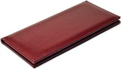 Визитница настольная на 96 визиток Sevilia бордовый - фото 4251