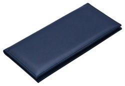 Визитница настольная на 96 визиток Sevilia синий темный - фото 4255