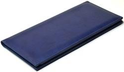 Визитница настольная на 96 визиток Vivella синий темный - фото 4278