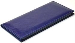 Визитница настольная на 96 визиток Rich синий - фото 4284