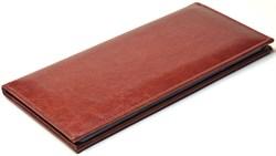 Визитница настольная на 96 визиток Rich коричневый - фото 4294