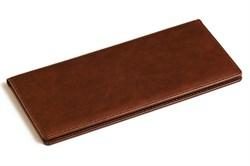 Визитница настольная на 96 визиток Nature коричневый - фото 4310