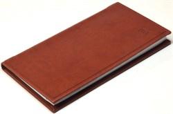 Книжка телефонная карманная Vivella коричневый - фото 4350