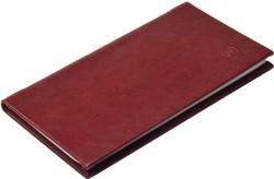 Книжка телефонная карманная, Nature, бордовый - фото 4368