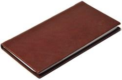 Книжка телефонная карманная, Nature, коричневый - фото 4372