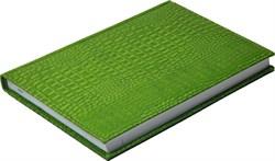 Ежедневник недатированный А5 Croco оливково-зеленый