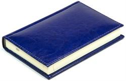Ежедневник недатированный А6, Rich, синий