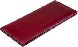 Визитница настольная на 96 визиток   Premium бордовый - фото 5516
