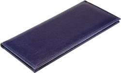 Визитница настольная на 96 визиток   Premium синий - фото 5519
