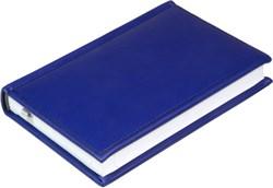 Ежедневник недатированный А6, Vivella, синий темный