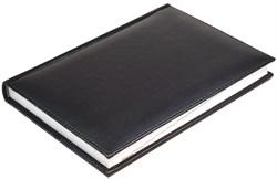Ежедневник недатированный А5 Nappa черный