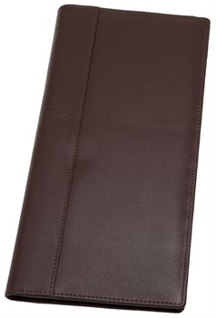 Визитница настольная Pamplona  натуральная кожа, коричневый