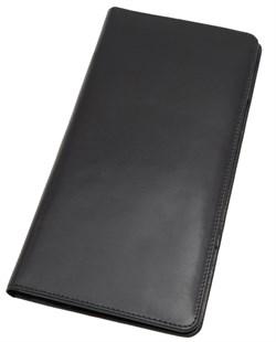 Бумажник дорожный Reise, натуральная кожа, черный