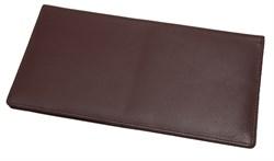 Бумажник дорожный Riviera, натуральная кожа, коричневый