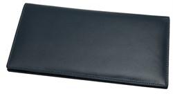 Бумажник дорожный Riviera, натуральная кожа, синий