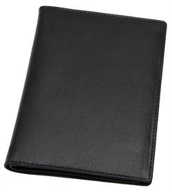 Бумажник водителя Sevilla, натуральная кожа, черный