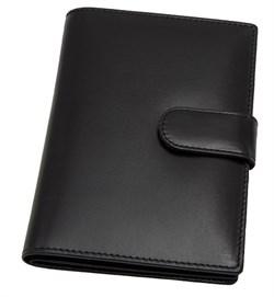 Бумажник водителя Voyager, натуральная кожа Brasile, черный