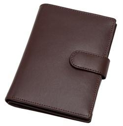 Бумажник водителя Voyager, натуральная кожа Venezia, коричневый