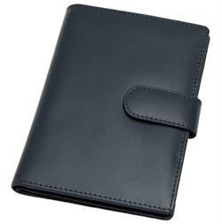 Бумажник водителя Voyager, натуральная кожа Venezia, синий
