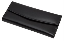 Ключница Firewall для 6 ключей, натуральная кожа Brasile, черный