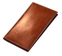 Бумажник мужской Kemer, натуральная кожа, коричневый