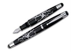 Ручка перьевая Signum Corallo Grigio, перо золото 18К