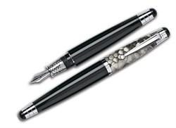 Ручка перьевая Signum Nova Phyton Grigia, перо золото 18К