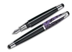 Ручка перьевая Signum Nova Phyton Viola, перо золото 18К