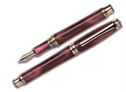 Ручка перьевая Signum Solare Rosso CT, перо золото 18К