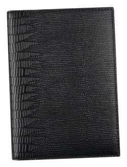 Бумажник водителя Triumf натуральная кожа черный