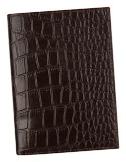 Бумажник водителя Laguna натуральная кожа отделка Skat коричневый