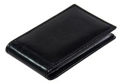 Визитница карманная 36 визиток Rich черный