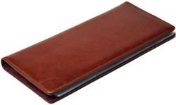 Визитница настольная на 96 визиток Malaga коричневый