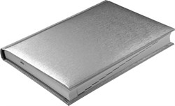 Ежедневник датированный на 2022 год А5 Tango серебряный