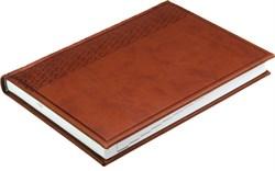 Ежедневник датированный на 2021 год А5  Vivella коричневый