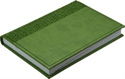 Ежедневник датированный на 2022 год А5 Vivella зеленый светлый