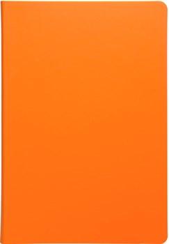 Ежедневник недатированный А5 Touch оранжевый/желтый в гибкой обложке