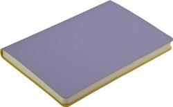 Ежедневник недатированный А5 Touch фиолетовый/желтый в гибкой обложке