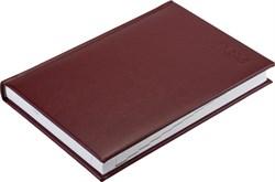 Ежедневник датированный на 2022 год А5  Sevilia бордовый