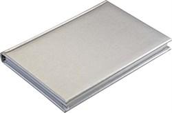 Ежедневник недатированный А5 Liga серебряный, серебряный обрез
