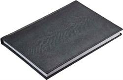 Ежедневник недатированный А5 Pitone Metal серый графит