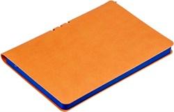 Блокнот недатированный А5 с ручкой Vivella оранжевый