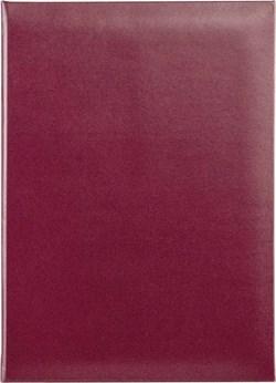Папка адресная A4 Бумвинил БЭСТ бордовый