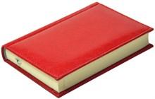 Ежедневник недатированный А6, Rich, красный