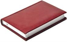 Ежедневник недатированный А6, Nature, бордовый