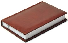 Ежедневник недатированный А6, Nature, коричневый